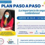 Invitan a la comunidad de Mariquina a conversatorio sobre el nuevo Plan Paso a Paso.